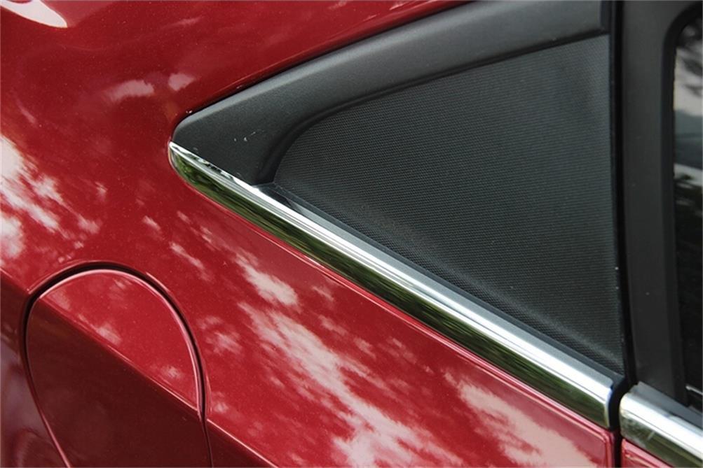 Vesul Far End 2 Short Pieces Window Chrome Molding Trim Compatible with Chevrolet Cruze 2011-2013