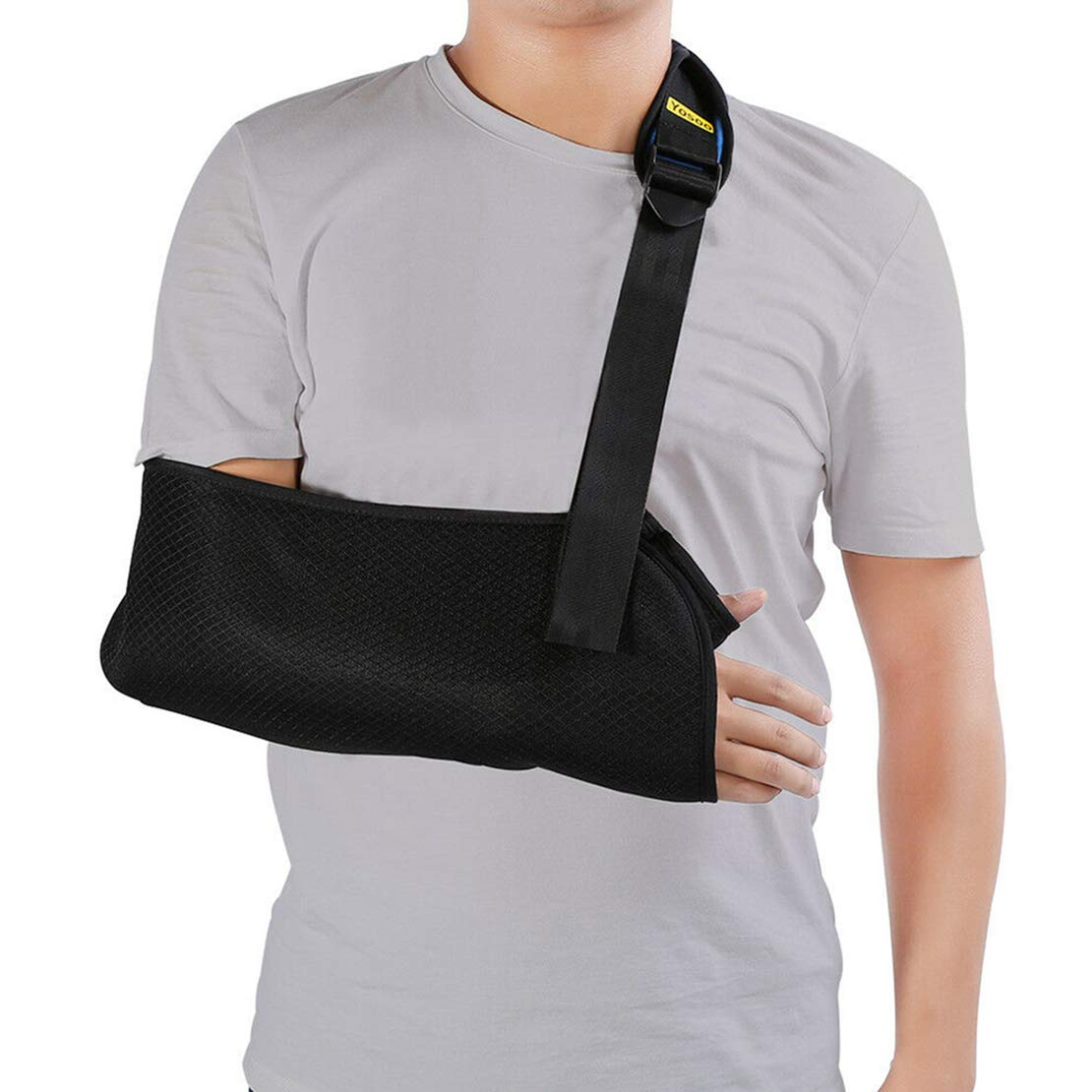 Have the courage to exercise Arm Sling Shoulder Immobilizer Padded Support Brace Universal Medical New