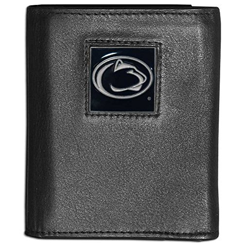 Siskiyou NCAA Penn State Nittany Lions Deluxe Leather Tri-fold Wallet