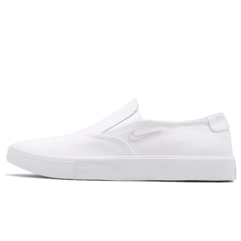 (ナイキ) SB ポートモア II SLR SLP C 2 メンズ スケートボード シューズ Nike SB Portmore II SLR SLP C AH3364-100 [並行輸入品] B07CZBYNK6 29.5 cm WHITE/WHITE-LIGHT BONE