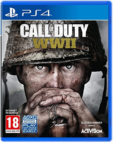 Call of Duty: WWII (PS4) UK IMPORT REGION FREE (Call Of Duty Modern Warfare Remastered Ps4 Uk)