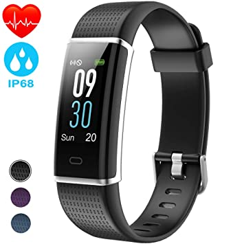 8a1da7f674d1 NAIXUES Pulsera Actividad Impermeable IP68, Pulsera Inteligente con  Pantalla Color GPS Pulsómetro Monitor Ritmo Cardíaco y Sueño 14 Modos de ...