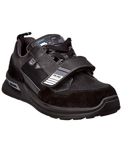 Prada Zapatillas Deportivas Hombre Nero: Amazon.es: Zapatos y complementos