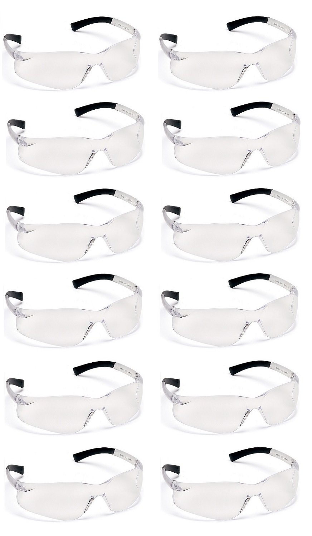 Pyramex Ztek Safety Glasses Clear Anti-Fog Lens S2510ST (12 Pair Pack)