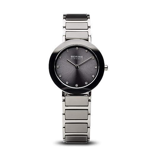 BERING Reloj Analógico para Mujer de Cuarzo con Correa en Acero Inoxidable 11429-783: Amazon.es: Relojes