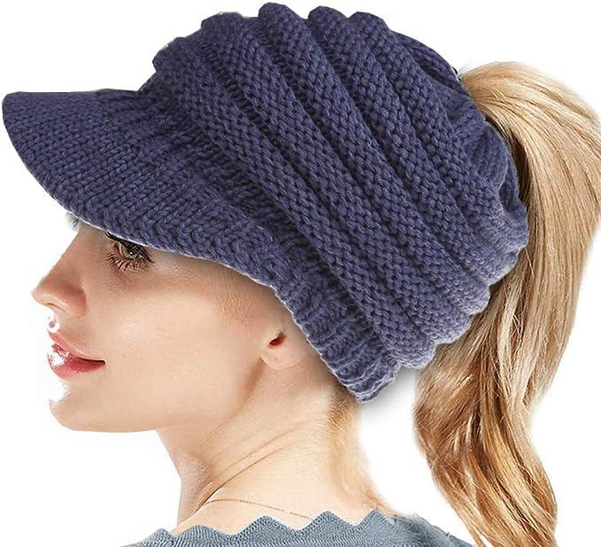 SWEDREAM Sombrero Invierno Gorros de Punto Gorras para Mujeres ...