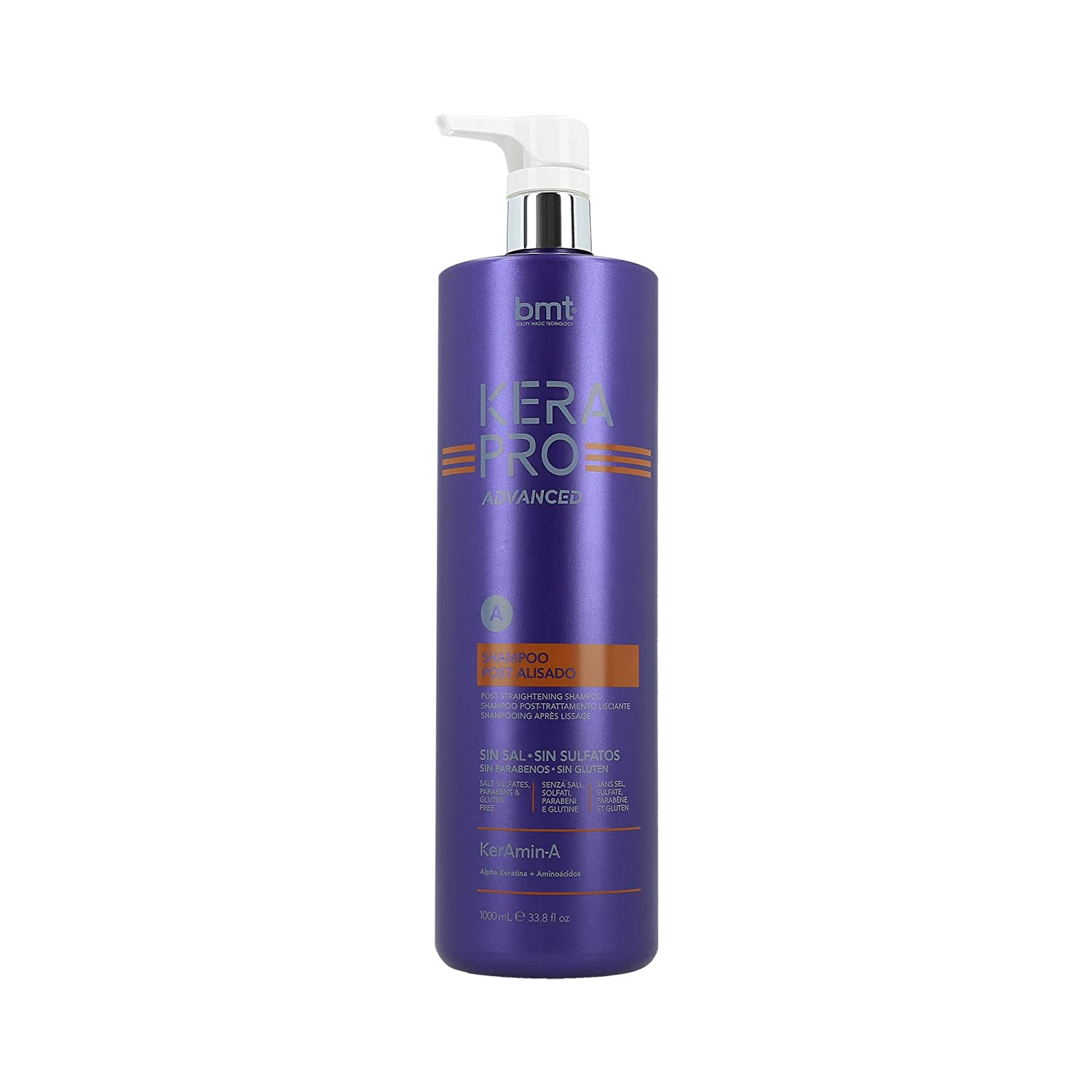Kerapro Advance Bmt Kerapro Advanced Shampoo Post Alisado 1000 Ml - 100 ml