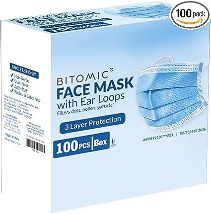 Blue-100pcs Pack of 100pcs