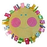 """Snuggle Stuffs Hello Sunshine 13"""" Yellow Plush"""