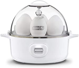 DASH Express Electric Egg Cooker, 7, White