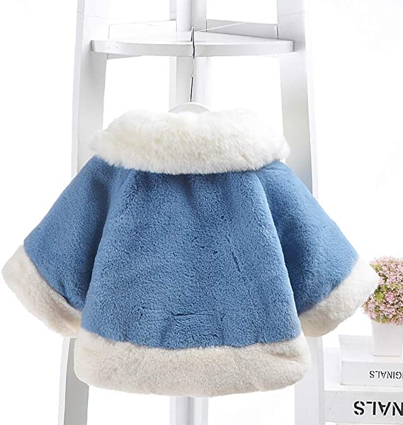 Avitalk Baby Boys Girls Winter Cape Coat Thick Jacket Warm Outerwears 6 Months-3 Years