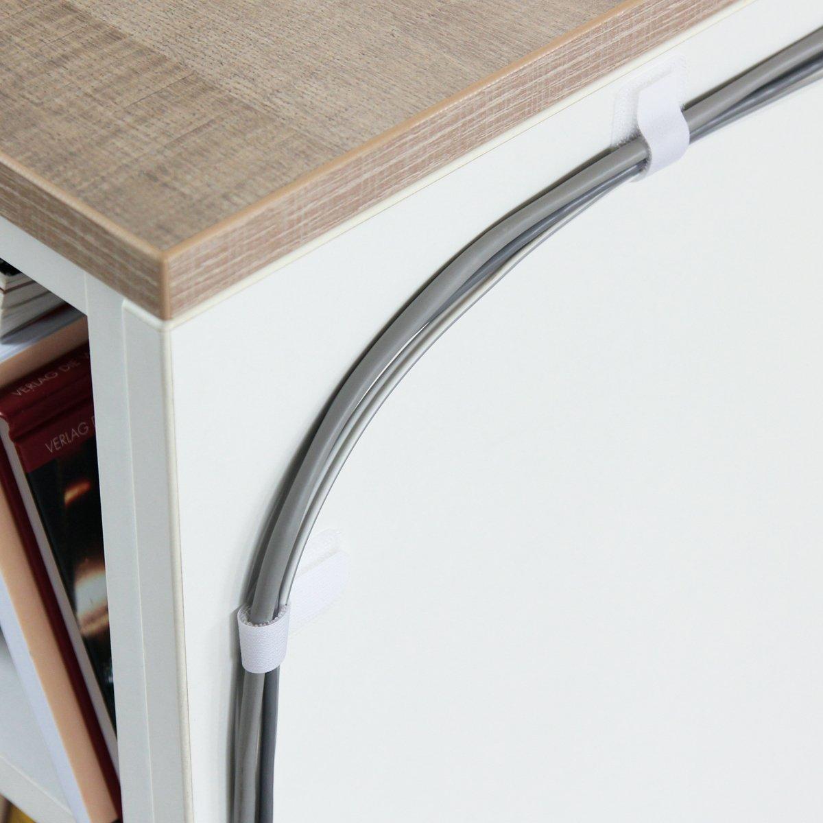 Label-the-cable Wall Velcro Negro 50 50 Negro Pieza(s) - Velcros (Negro, 33 mm, 9 cm, 50 Pieza(s)) aa93c4