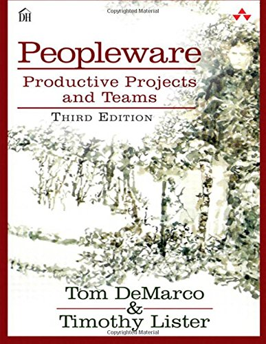 Pdf Computers Peopleware: Productive Projects and Teams (3rd Edition)