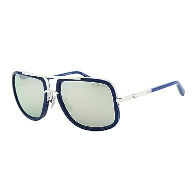 8c3f2356cde Dita Mach One Sunglasses DRX-2030J Titanium Blue   Silver 59mm Flash Lens  Made In Japan  Amazon.co.uk  Clothing