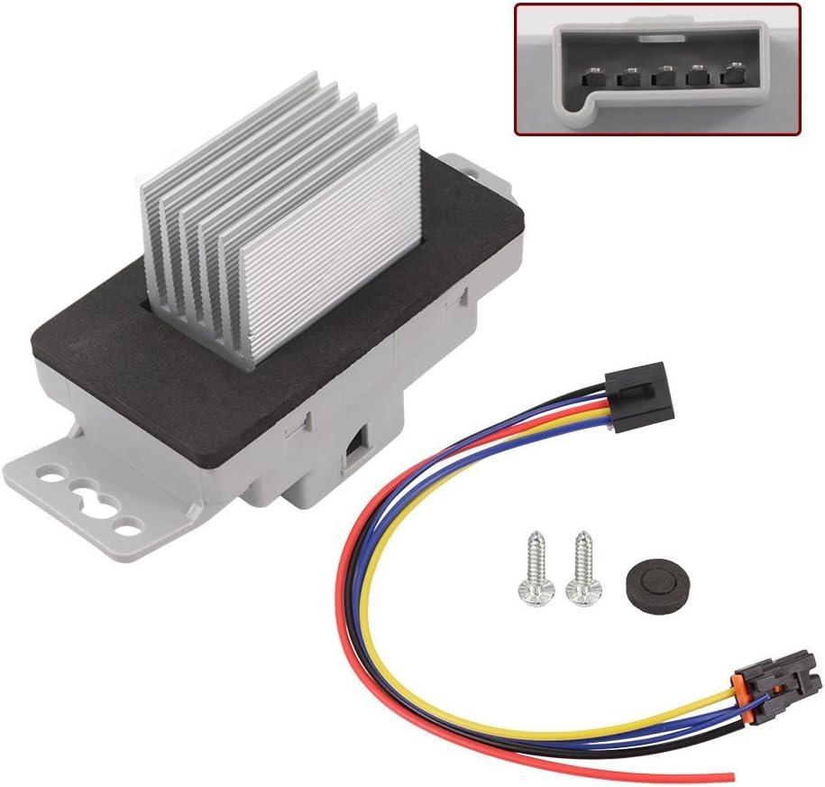 2002 pontiac grand prix hvac blower wiring amazon com hvac blower motor resistor kit with plug harness for  amazon com hvac blower motor resistor