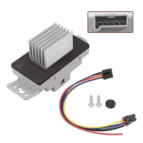 amazon com hvac blower motor resistor kit with plug harness for 1965 Impala SS hvac blower motor resistor kit with plug harness for 15850268 chevrolet chevy monte carlo 04