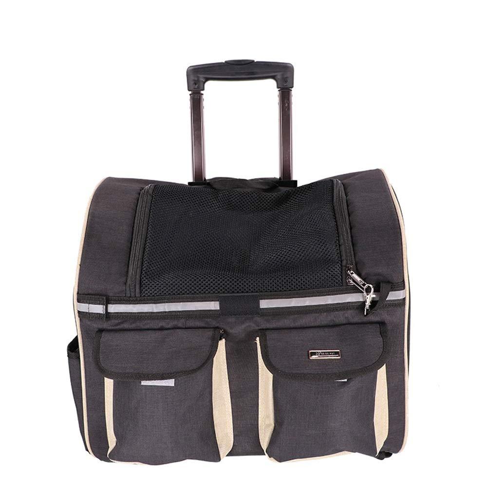 B CL Pet Bag Out of The Pet Backpack Trolley Case Four colors Optional 450X240X380-450mm Pet Bag (color   B)