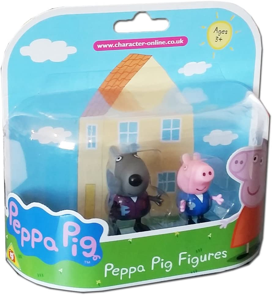 Peppa Pig – Danny perro y figura de George Twin Pack: Amazon.es: Juguetes y juegos