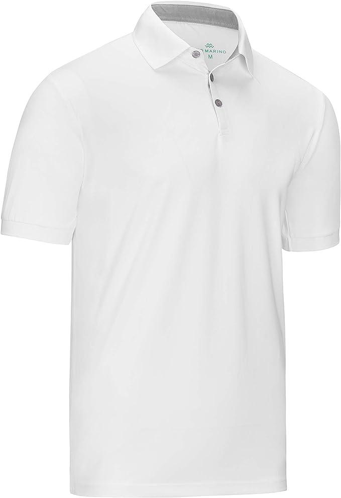 Mio Marino - Polo de Golf para Hombre - Ajuste seco - Camisas ...