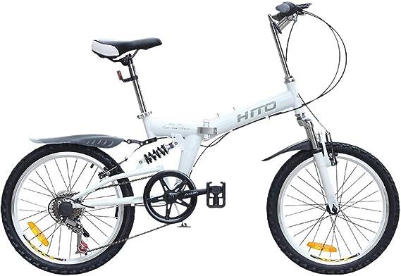 Bicicleta Bicicleta De Montaña Carretera Plegable Adulto Specialized Velocidad Variable con Sistema De Freno Doble V ...