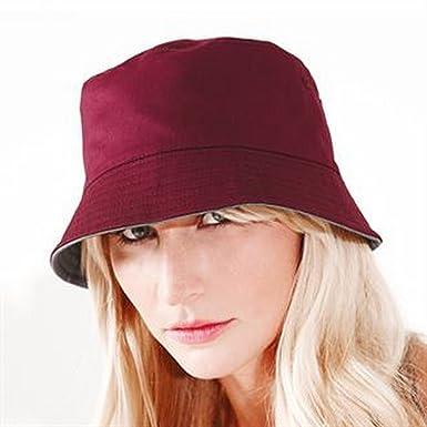 Reversible bucket hat (French Navy  White b896098bcb44