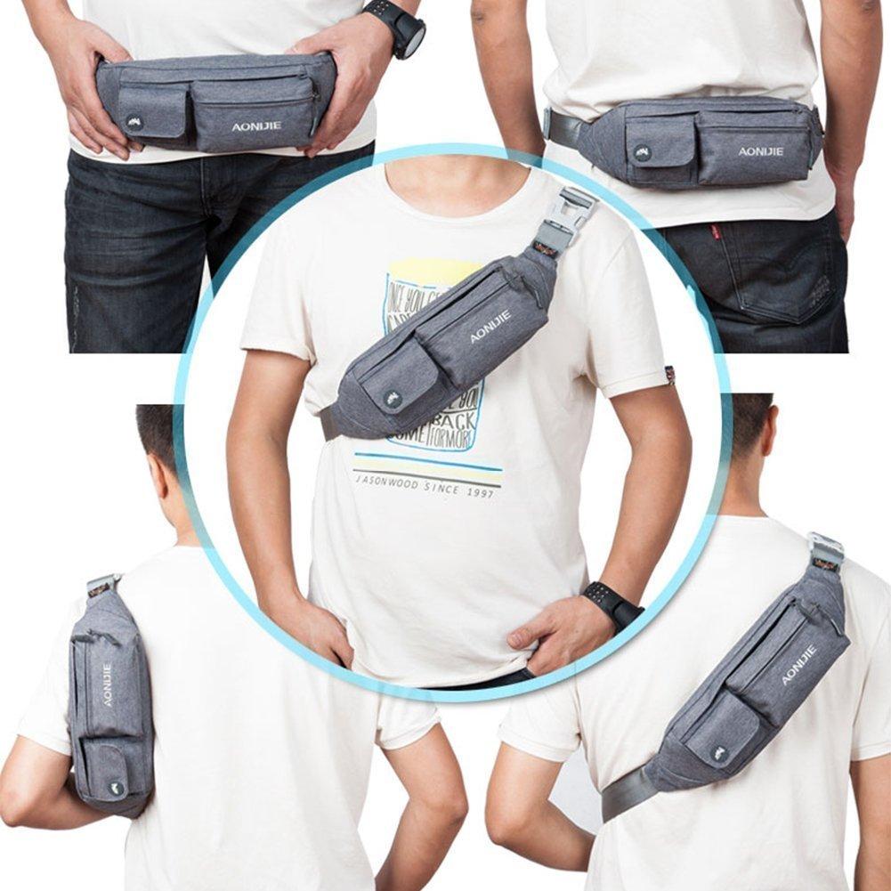 Top Fans Aonijie Premium Waterproof Waist Pack Running Bag Blue Green Belt Exercise Sports Outdoors