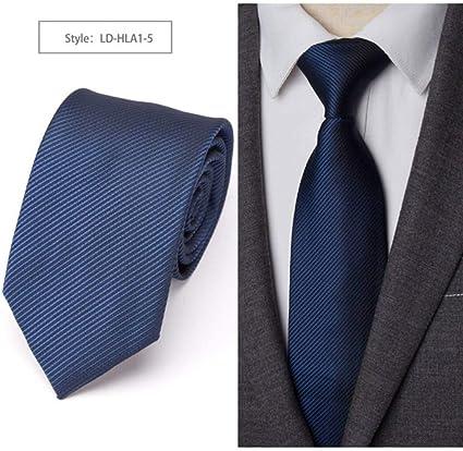 KYDCB Corbatas para Hombre Corbata de Rayas Corbata de Lazo ...