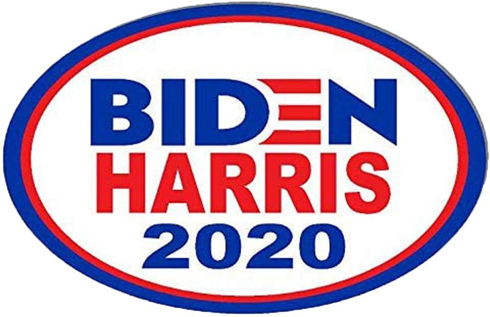 2020 Car Magnet for President 2020 Magnetic Bumper Sticker Oval Biden