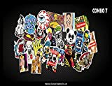 100 PCS Not Repeat Graffiti Sticker Label Fashion