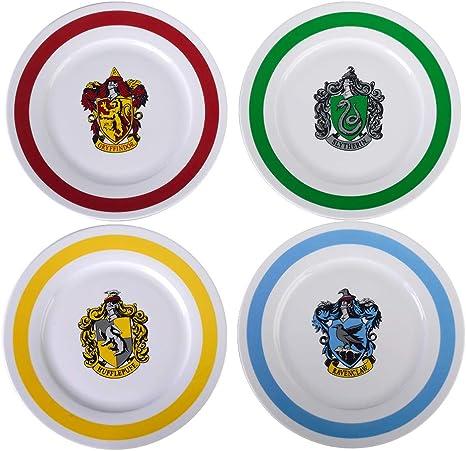 Harry Potter Assiettes 26 7 Cm Assiettes A Diner Incluent Les 4