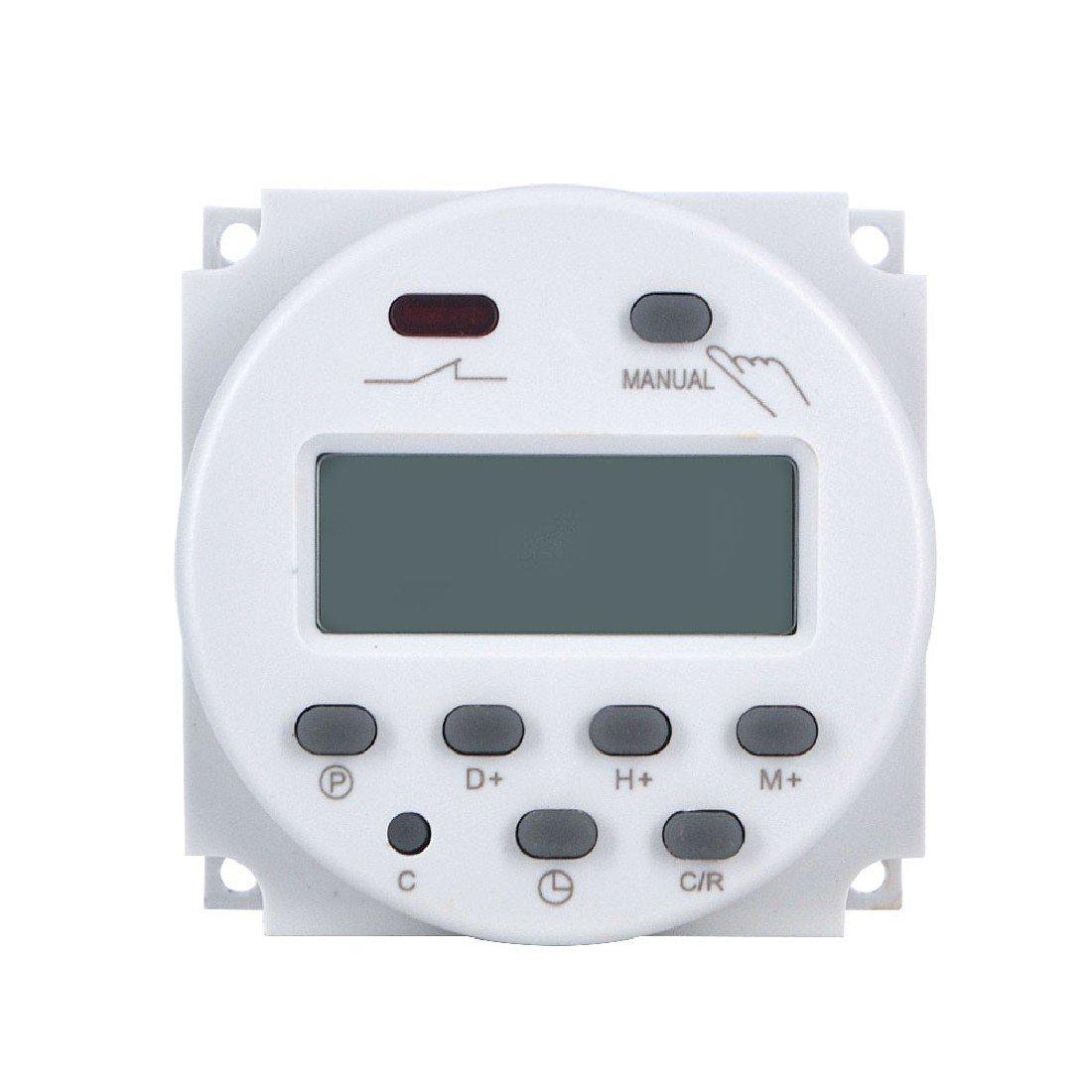 Interruptor de alimentación de CA LCD CNA Temporizador digital programable Tiempo del