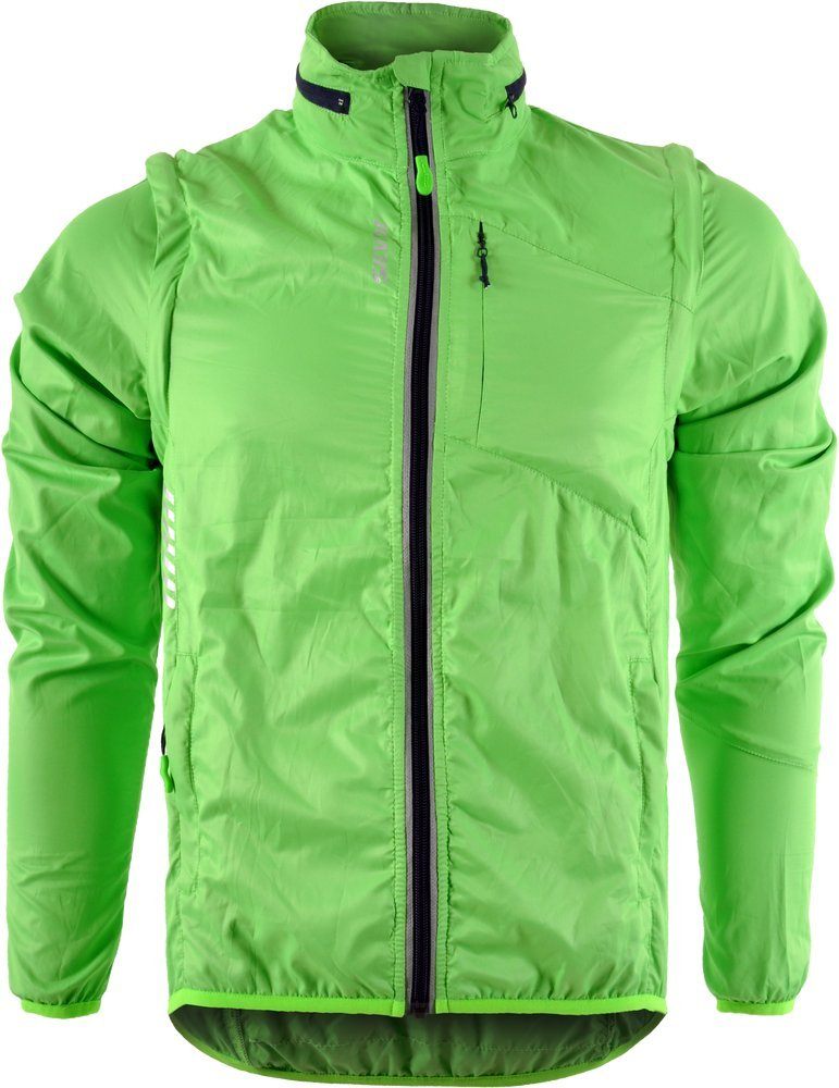SILVINI Men's Windproof Jacket Vetta MJ1219 Green-Navy 5XL