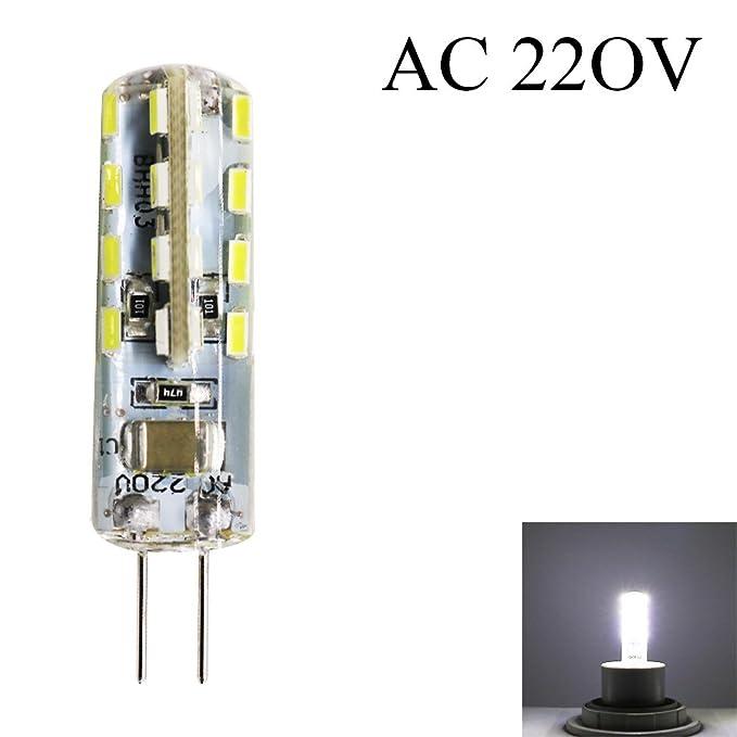 1x 32SMD 3014G42.5W 220V AC 210Lumen LED Lampe équivalent à 25W Lampe halogène angle du faisceau de 360degrés (Blanc feddo) adapté pour bureau