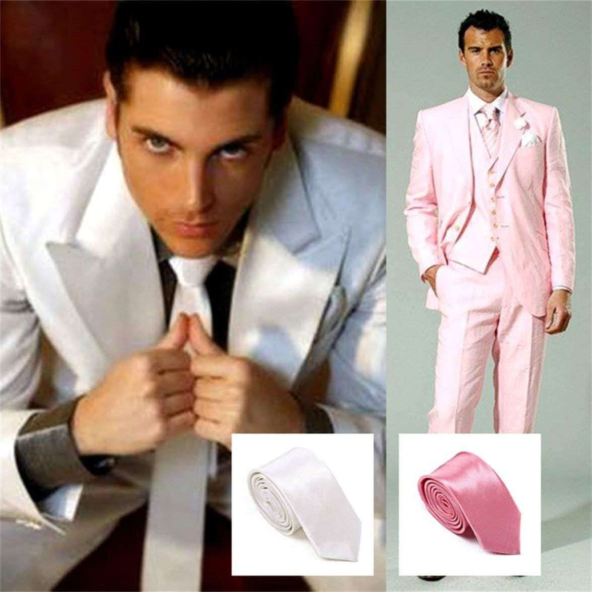 Sylvialuca Satin Elastic Wedding Prom Boys Kids Children School Neck Ties Exquisitely Designed Durable