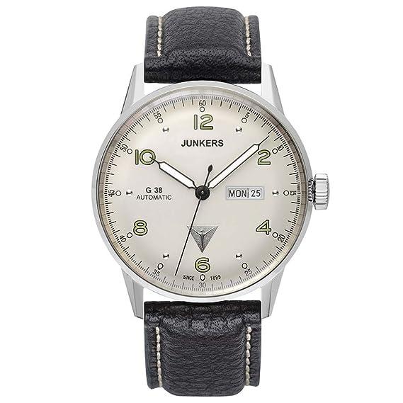 Junkers Reloj para Hombre con Correa de Cuero – 6966-4