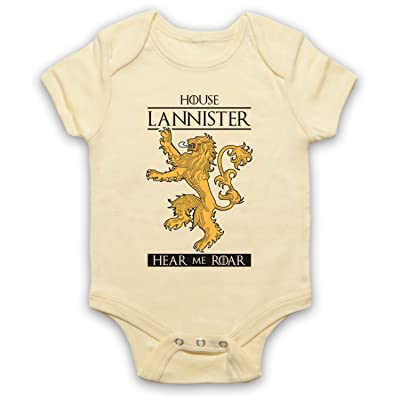 The Guns Of Brixton Game Of Thrones House Lannister Bébé Barboteuse Bodys