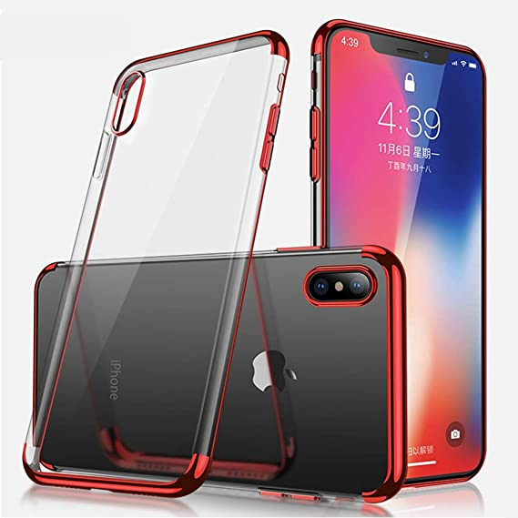 Swenky for iPhone X case,iPhone Xs case,[Ultra-Thin] & [Soft Touch] TPU Protect Cover