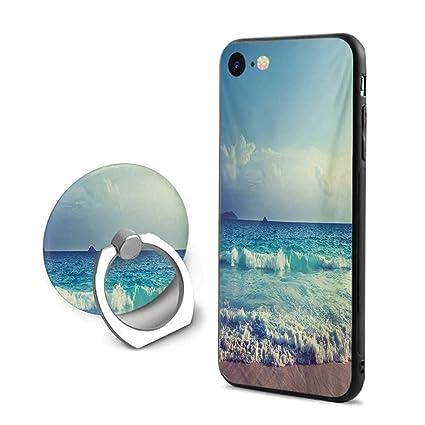 Amazon Com Tropical Island Iphone 7 Iphone 8 Cases Ocean
