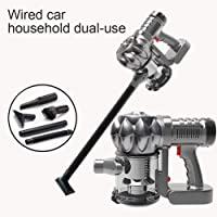 Hand-held Vacuum Cleaner,Portable 120W AC220V Electric Wireless Car Vacuum Cleaner,Home Car Dual Charge Lithium Battery Vacuum Cleaner