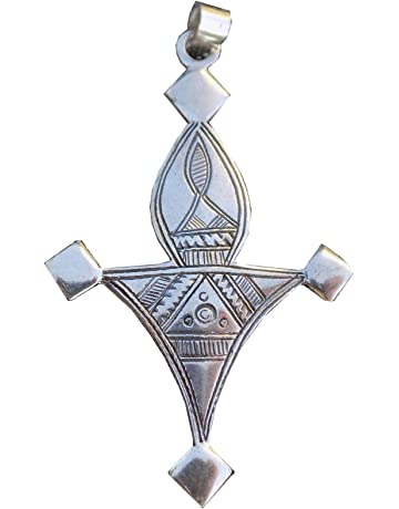 Fashion 925 Sterling Argent Massif Bijoux Croix Chaîne Collier Pendentif P066