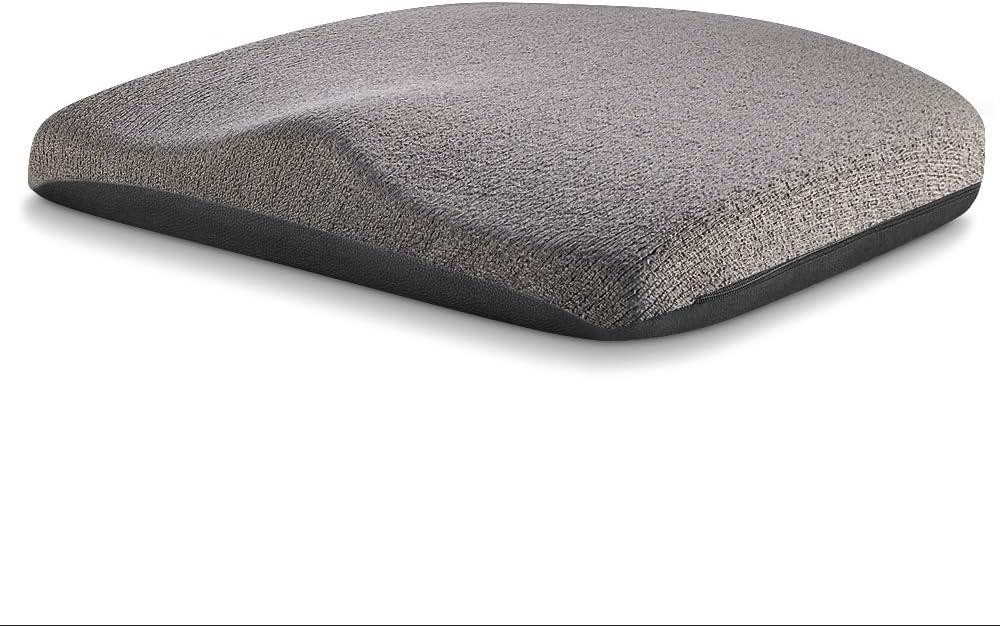 Tsumbay Cuscino per Sedile Universale Memory Foam Ergonomico Cuscini Seduta Innovativa per Sollievo Coccige Sciatica Cuscino Comodo per Ufficio Auto