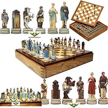 Juego de ajedrez magnética con ajedrez con diseño de figuras de ...