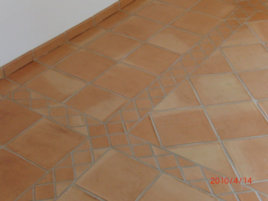 Denia Musterfliese Cotto Hof 30 x 30 x 2 cm Versand und Verpackung vorbehandelt inkl