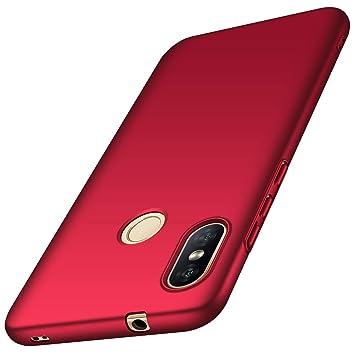 AOBOK Funda Xiaomi Mi A2 Lite, Funda Xiaomi Redmi 6 Pro, Alta Calidad Ultra Slim Anti-Rasguño y Resistente Huellas Dactilares Totalmente Protectora Caso de ...