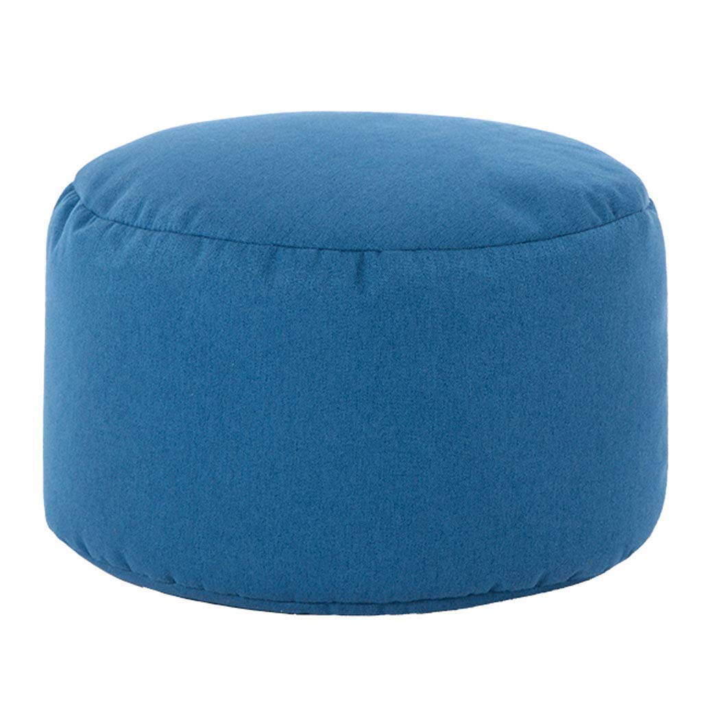 Comfortable Ottoman,Cube Footrest Upholstered Padded Stool Footstool Breathable Pouffe with Removable Cover Home Gifts by SONGTING Ottomans