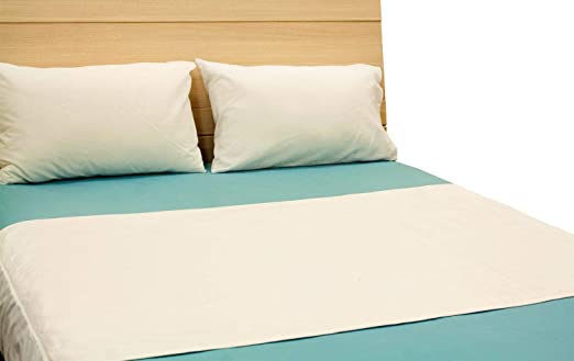 SOL Home Bundle of 2 Waterproof Bed Mattress Protector Cover Sheet Fitted Sheet