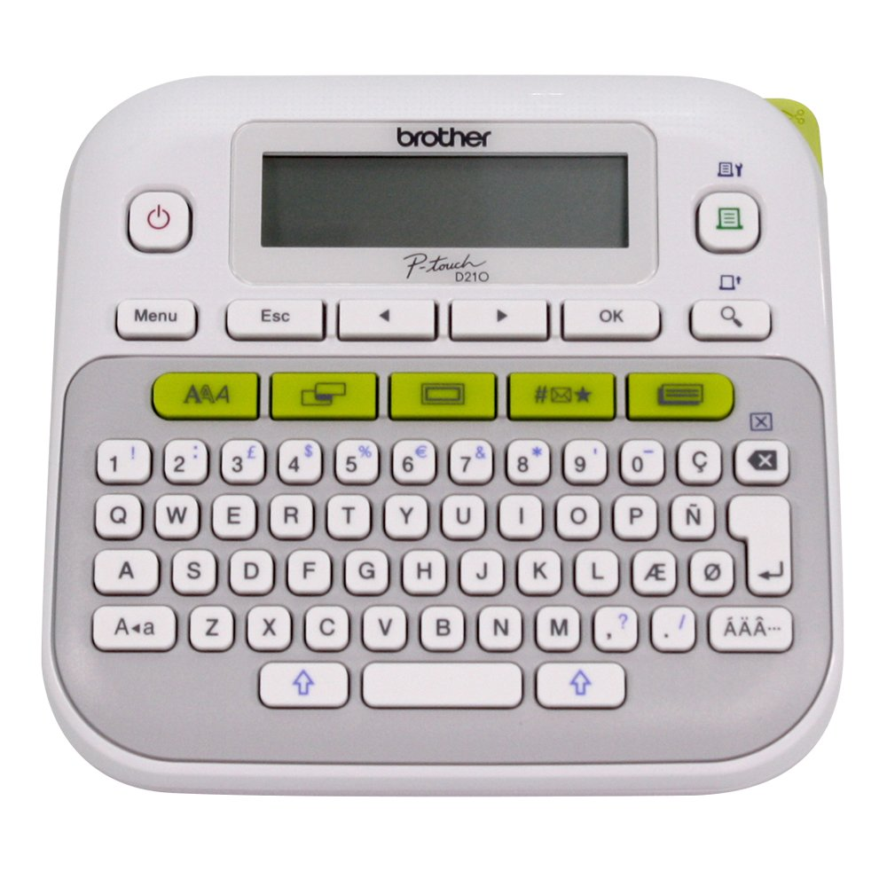 Brother PT-D210 Electronic Desktop Label Maker: Amazon.ca: Office ...