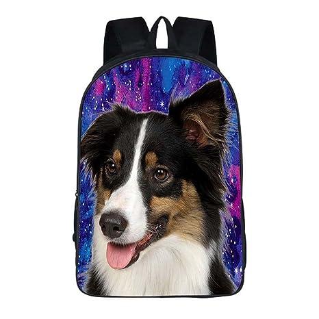 Amazon.com: Joyloading Cartoon 3D Cute Dog Children Backpack Casual Schoolbag Pupils Shoulders Bag (Style1): Sports & Outdoors