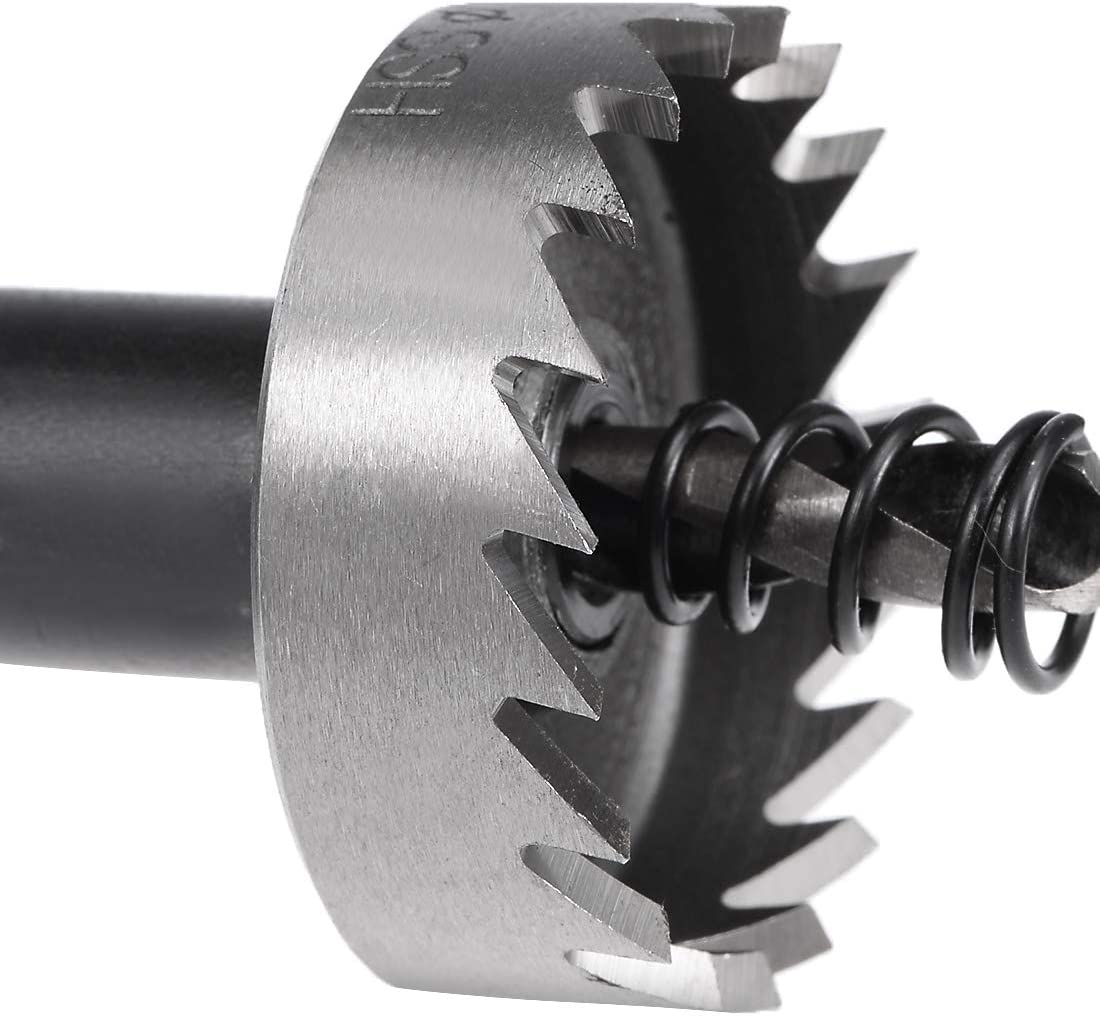 Starrett SM36 Tct Holesaw 36mm Carbide Tipped For Stainless Steel Wood,Plastic