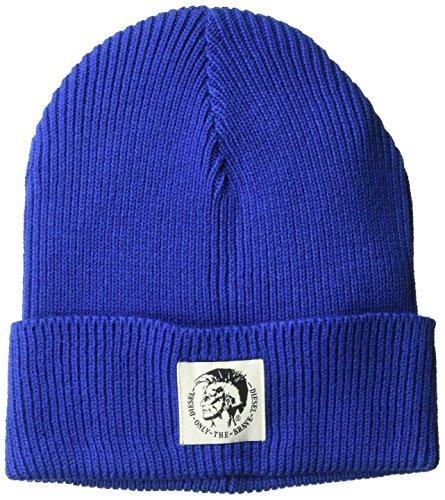 Diesel Beanie (Diesel Men's K-Coder Knit Cap, Mazarine Blue, One Size)
